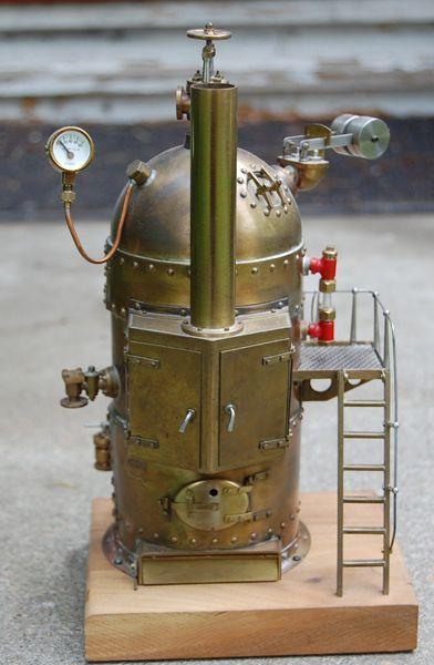 how to make a steam machine