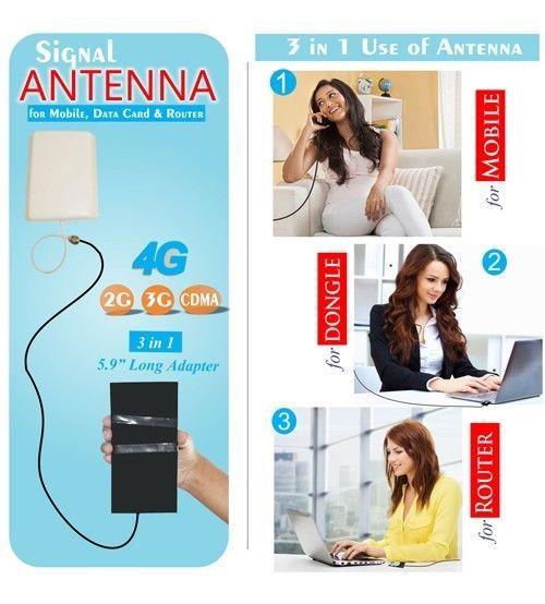 4G,3G,GSM & CDMA 12dbi High Gain OUTDOOR ANTENNA For All Network Operators | eBay