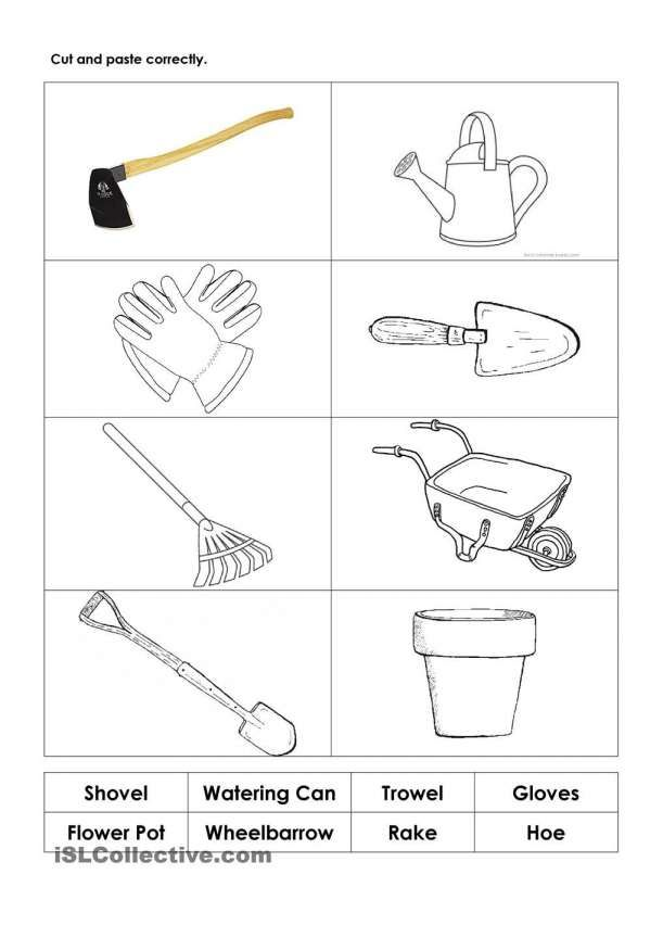 12 Gardening Worksheet For Kindergarten