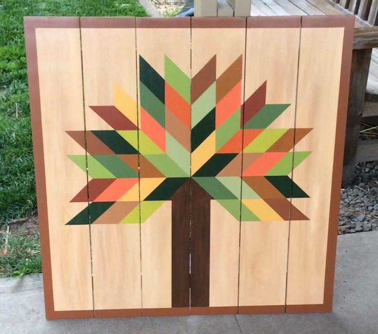 Tree Barn Quilt