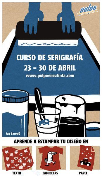 CURS: A Pulpo en su tinta, podem trobar informació, material i cursos a Barcelona