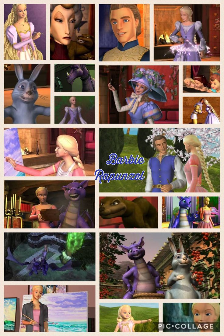 Barbie rapunzel love this movie made by Emily F