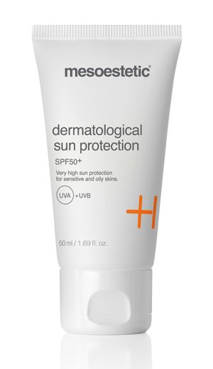 Mesoestetic dermatological sun protection,