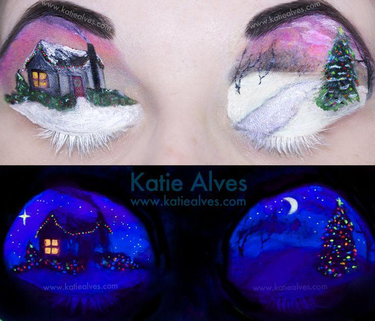 Best 25+ Black light makeup ideas on Pinterest   Neon face paint ...