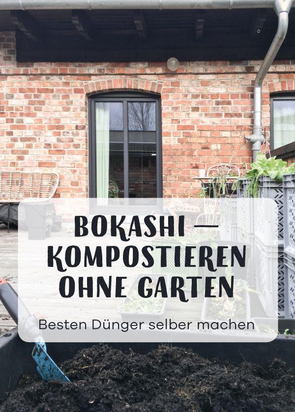 In diesem Artikel erfährst Du, wie man aus Küchenabfällen mit effektiven Mikroorganismen Bokashi und dann die beste Blumenerde selber machen kann. Eine tolle Idee für den Küchengarten oder Balkongarten oder Kistengarten und das Gärtnern auf kleinem Raum.
