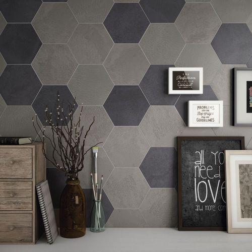 les 25 meilleures id es concernant carrelage hexagonal sur. Black Bedroom Furniture Sets. Home Design Ideas