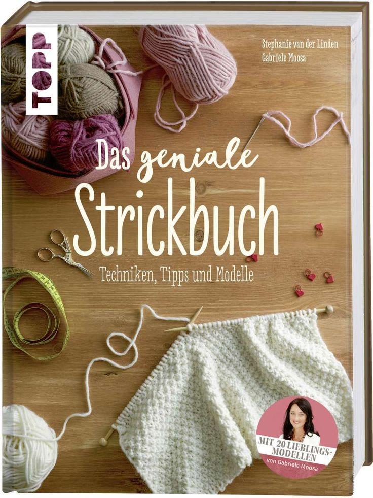 Das geniale Strickbuch https://www.topp-kreativ.de/das-geniale-strickbuch-8132?c=1733 #frechverlag #topp #diy #stricken
