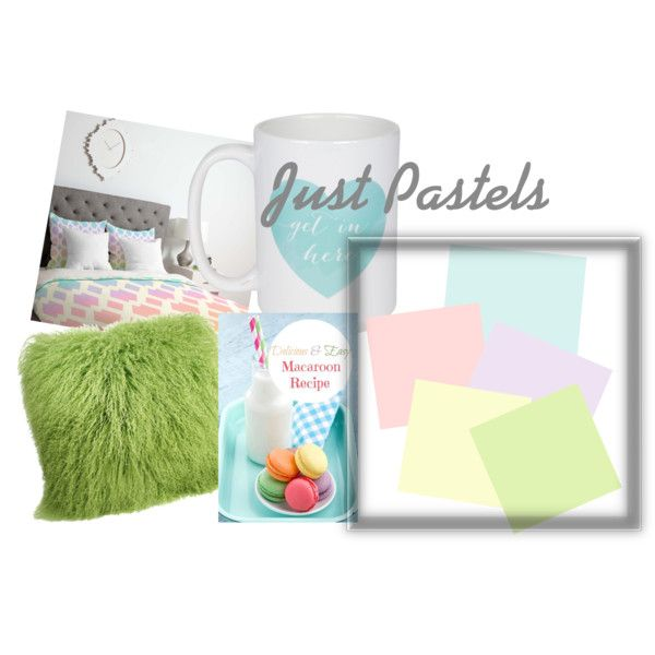 Just Pastels by sophee-xoxo on Polyvore featuring art