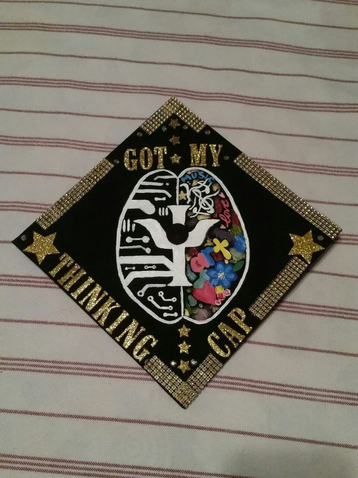 Pin By Andrea Fernanda Torres On Grad Caps In 2020 Psychology