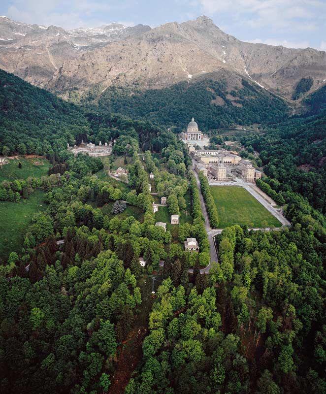 Santuario e conca di Oropa - Biella - Piemonte - Italy