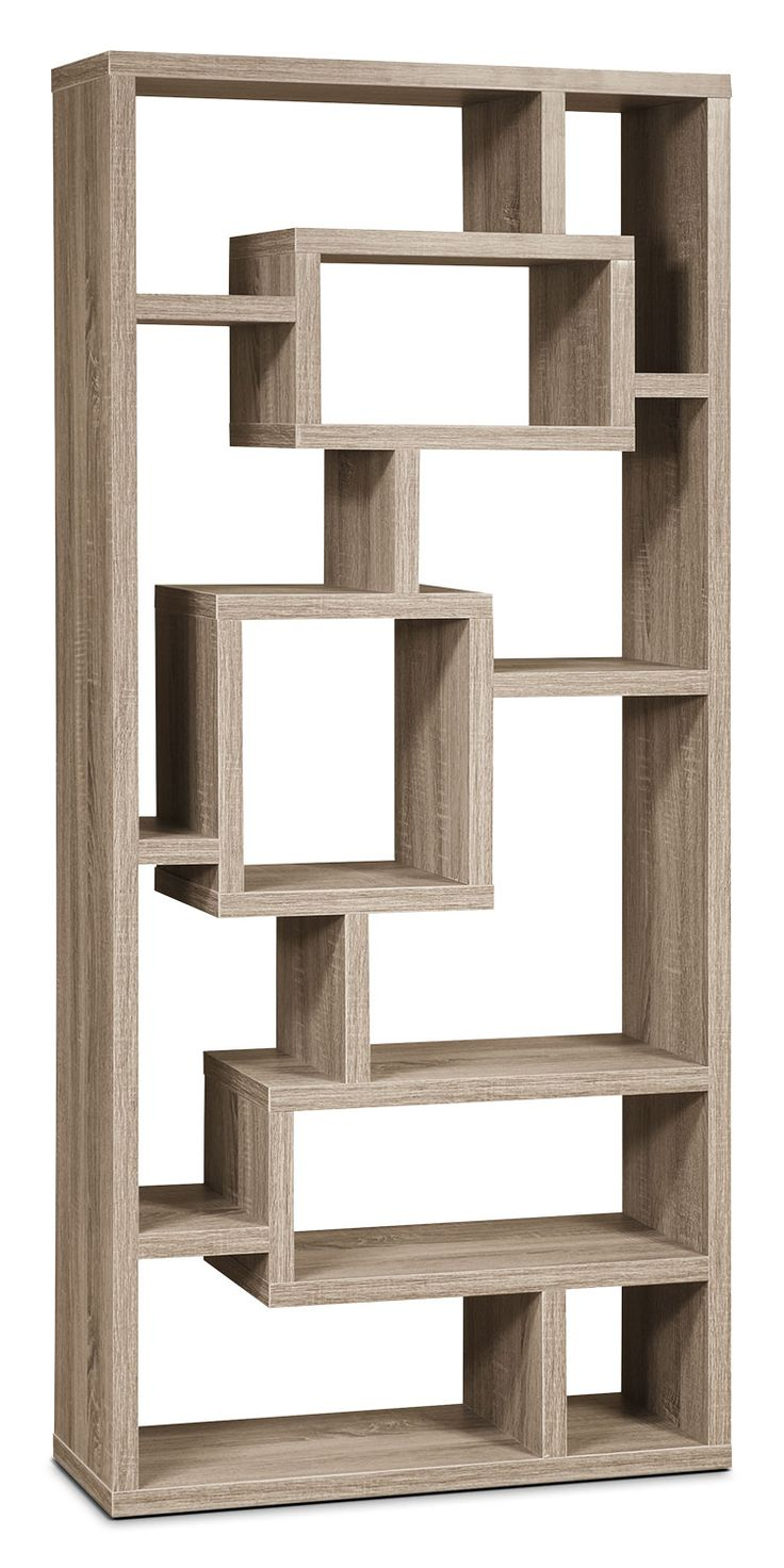 Give your favourite items a stylish home with this unique display cabinet and its incredible showcasing possibilities. Combining elements from modern and retro designs, this cabinet can be set up vertically or horizontally to bring you various exciting display options. Finished in an elegant neutral tone, this versatile and functional piece of art is a welcome addition to your home.