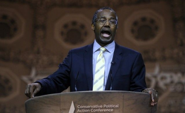 Dr Ben Carson says there may not be 2016 elections in the United States because the country could be in anarchy by that point. His reasons: the growing national debt, ISIS, and the U.S. Senate's refusal to consider legislation passed by the GOP-controlled House of Representatives.  9.28.14