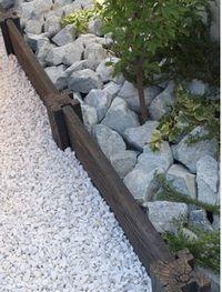 コンクリート枕木スリーパーポールPL-30×2個(N6610)[枕木/コンクリート/支柱/柱/敷石/飛び石/アプローチ/花壇/ガーデン/庭/擬木/人工/エクステリア]P06May16