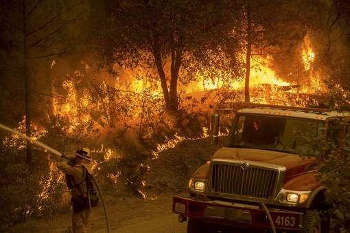Al 86 huizen verwoest door bosbranden in Californië - HLN.be