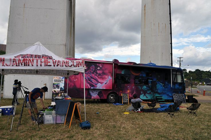 Jam in the Van at Feast to the Beat, Ohio & Erie Canalway