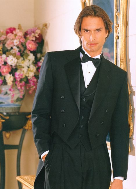 SAN DOMINICO Fulldress Tail Coat tuxedo