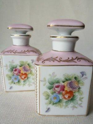 """Vintage """"Parisienne"""" Perfume Vanity Set  (via Perfume bottles & atomizers…"""