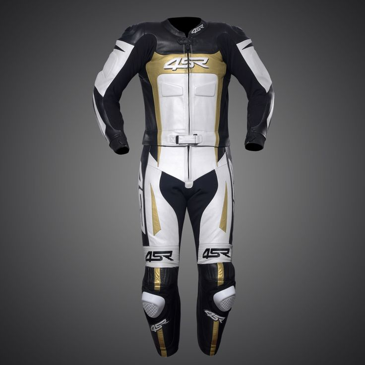 4SR -Leather suit Speed Gold