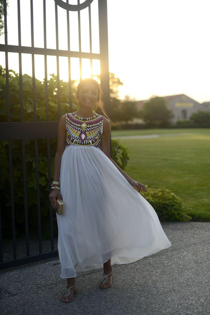 white dress in Verona