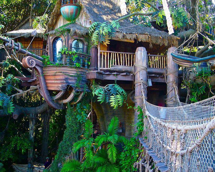 treehouse masters | Tarzan Treehouse Photograph by Karon Melillo DeVega - Tarzan Treehouse ...