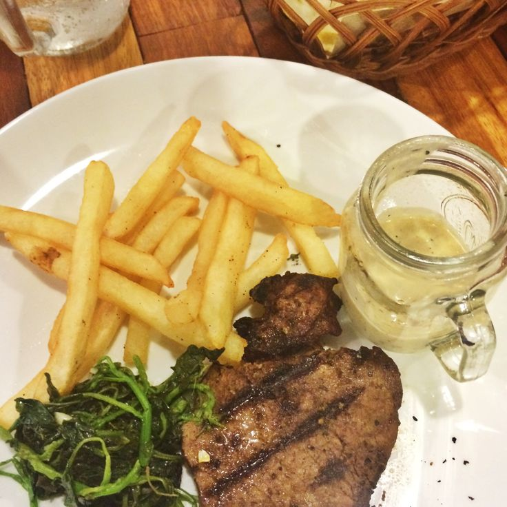 Another steak house in Solo, Lazy Cow. Good steak with, surprisingly affordable price and exquisite service.