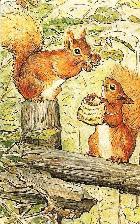 Beatrix Potters wundervolle Illustrationen hatten immer etwas zu bieten, das mich dazu brachte, ihre Geschichten zu lieben, selbst nachdem ich aus Kindern herausgewachsen war …