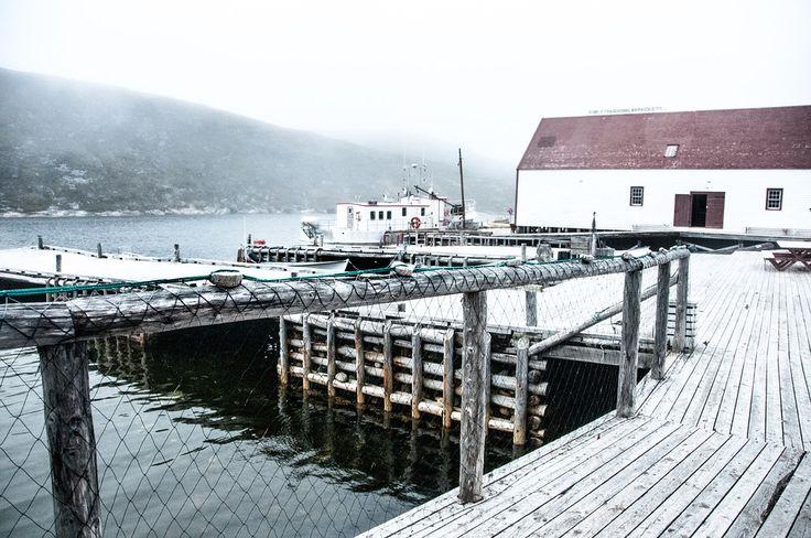 Battle Harbor in Southern Labrador