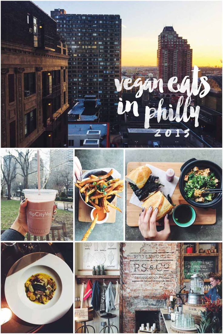 Vegan Eats in Philly 2015 - I've tried a little more than half of these!