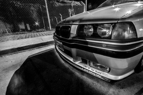 BMW E36 Compact black&white