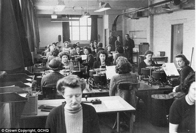 The REAL Bletchley Circle: Fascinating work of female codebreakers ...