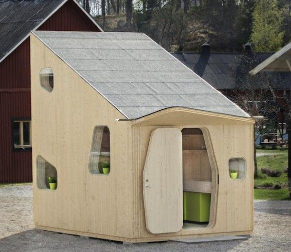 Next year at Lund University in Småland, Sweden, 22 students will get their own 10 sq meter micro-houses.