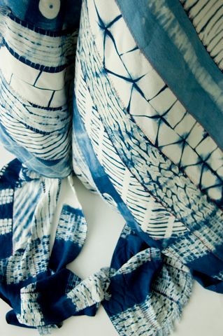 Beautiful shibori...