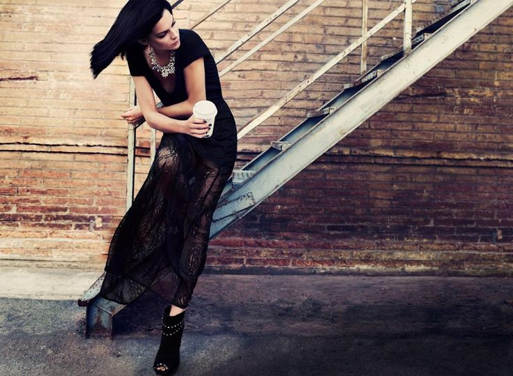 Leigh Lezark Stars in Stradivarius Christmas 2012 Campaign
