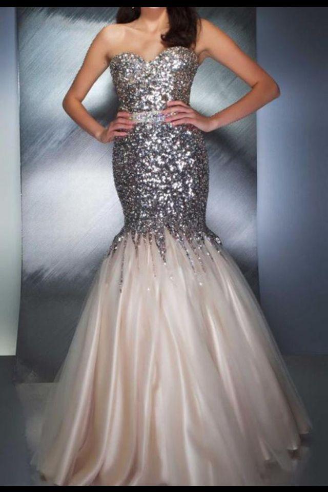 Sequin mermaid dress from eBay