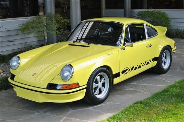 1973 PORSCHE 911 CARRERA RS 2.7 Maintenance of old vehicles: the material for new cogs/casters/gears/pads could be cast polyamide which I (Cast polyamide) can produce