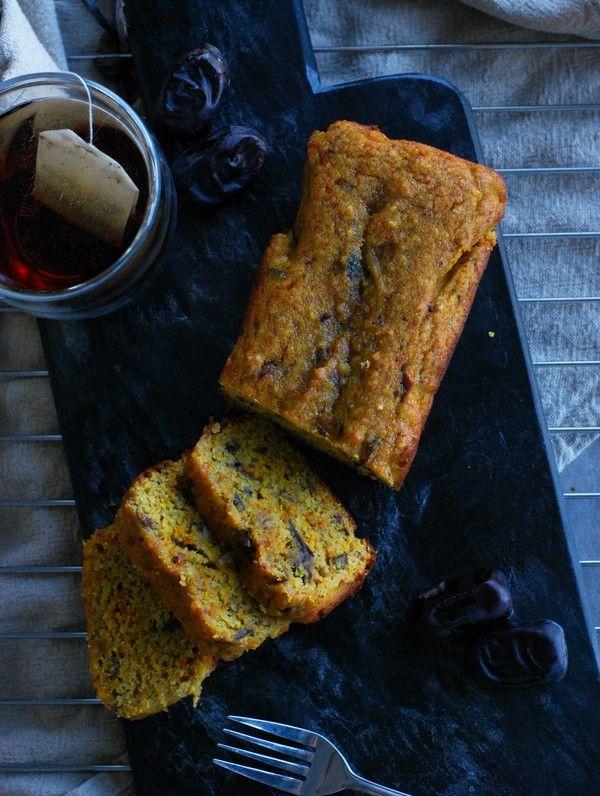 Healthy saffron cake (gluten free, no sugar added) - Hälsosam saffranskaka (glutenfri, utan tillsatt socker)