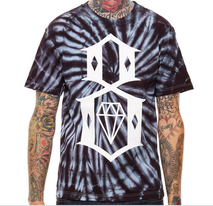 Rebel 8 Tie Dye T-shirt available at Adrenaline Toronto