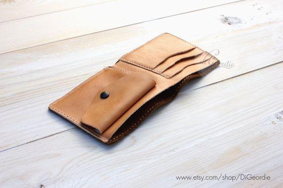 Leather wallet mens leather wallet leather wallet men by DiGeordie