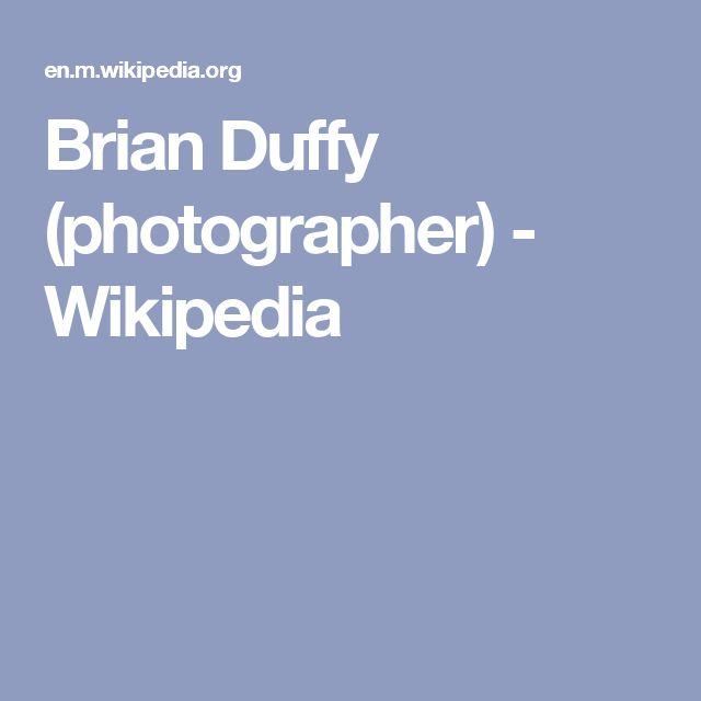 Brian Duffy (photographer) - Wikipedia