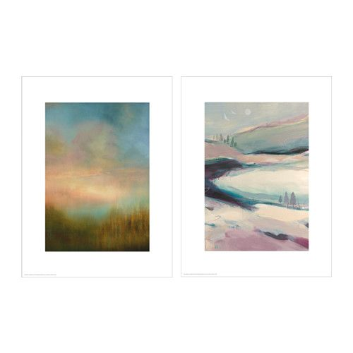 IKEA - TVILLING, Poster, set of 2, You can personalize your home with artwork that expresses your style.