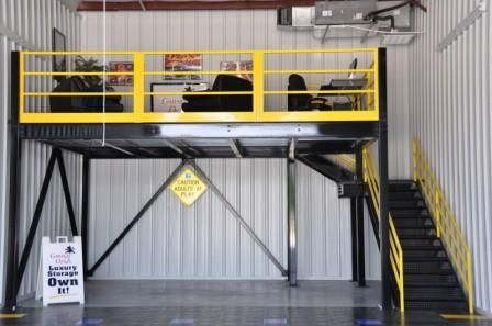 Garage storage with mezzanine for the home pinterest Garage storage mezzanine