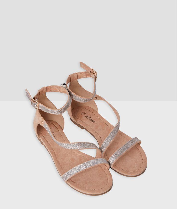 Mes prochaines sandales >> Sandales pailletées @etamfrance