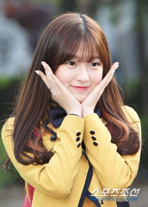 Arin (Oh My Girl) - On the way to Music Bank Pics