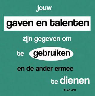 Leef je geloof: Ga aan de slag met je talenten