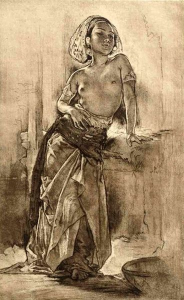 Willem Gerard Hofker - Ni Kenjoen, Bali