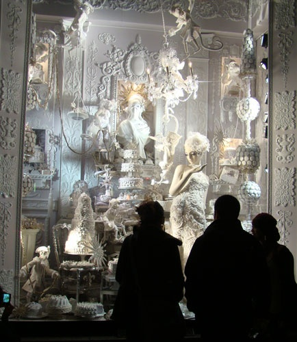 New York Department Stores Christmas Window -- Bergdorf Goodman