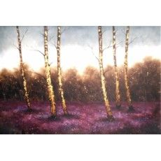 """Lavender Wood 41""""x 53"""" High Gloss Canvas (Less 5'' each size Unframed) From £249"""