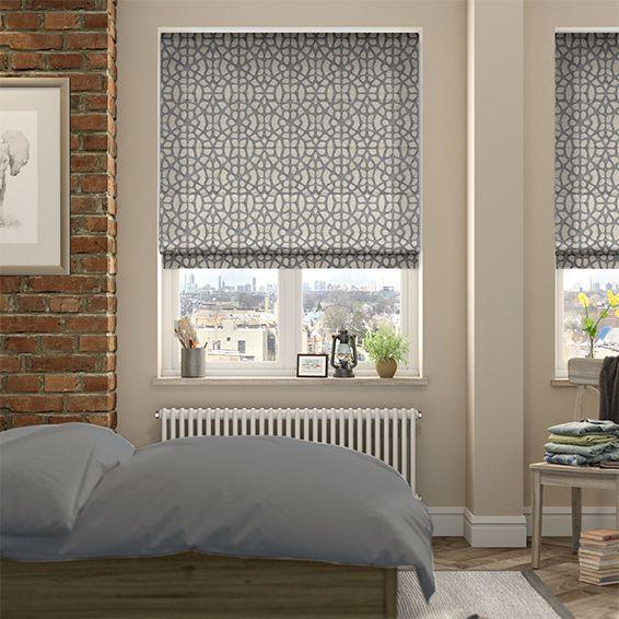 25 best ideas about grey roman blinds on pinterest grey. Black Bedroom Furniture Sets. Home Design Ideas