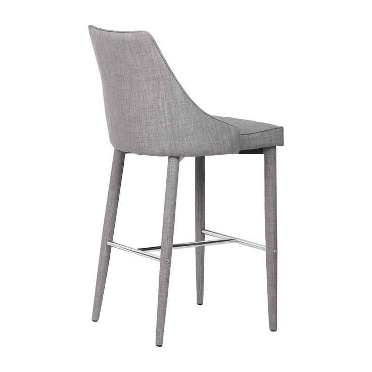 Buy Modern Bar Stools Online or Visit Our Showrooms To Get Inspired With The Latest Bar Stools From Life Interiors - Charlie Bar Stool (Light Grey)
