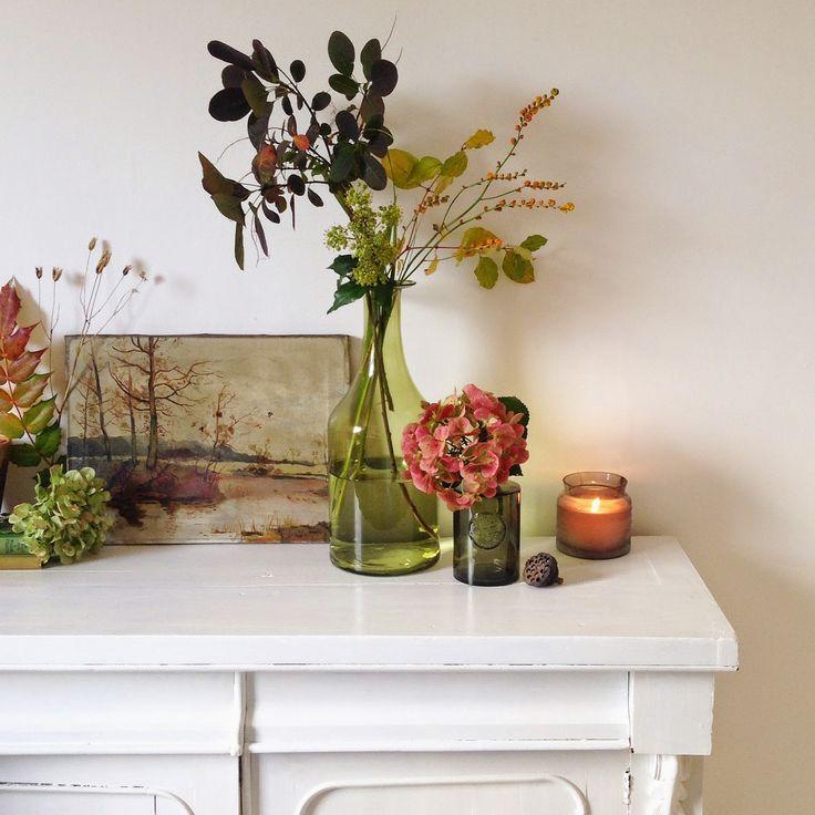 selina lake my tesco home this autumn tesco green glass. Black Bedroom Furniture Sets. Home Design Ideas